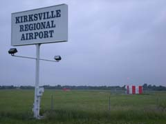 Kirksville Regional Airport ridership is down 1/3 from original predicitions.